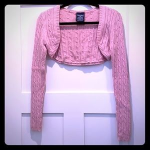 Ralph Lauren crop top cardigan